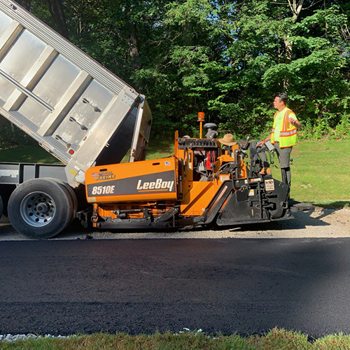 Asphalt Paving Project in Derry NH
