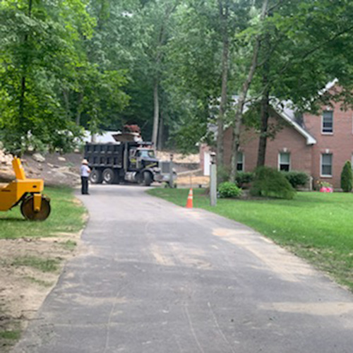 New Driveway Project in Derry NH